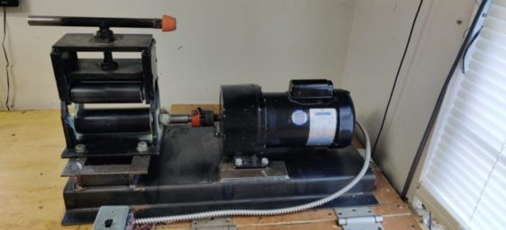 Electric Drive ProRollers ProMax Bat Rolling Machine