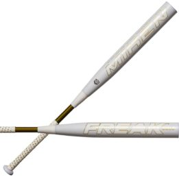 Rolled Miken Gold asa Softball Bat